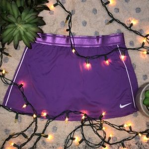 Purple Nike Tennis Skirt